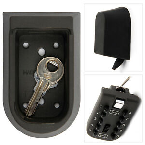 Outdoor High Security Combination 10 Digit Wall Mounted Key Safe Box Secure Lock