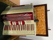 Mundinger Italy Akkordeon mit Koffer wohl 60-70 er Jahre