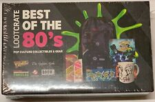 New! Best of 80's LootCrate Back to the Future Golden Girls Tmnt Ghostbusters