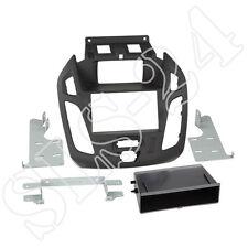 Ford Tourneo Transit Connect PJ2 ab 2013 Doppel 2-DIN Radio Blende+Fach schwarz