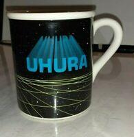 ORIGINAL STAR TREK  MUG BY SUSIE MORTON - UHURA  - 1983 - Vintage