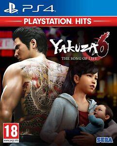 Yakuza 6: The Song of Life  PS4 Playstation 4 Brand New