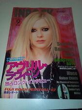 JAPAN INROCK MAGAZINE09/2007 AVRIL LAVIGNE,SUM41,BON JOVI,MUSE ,KAISER CHIEFS