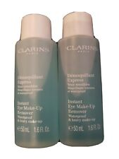 Clarins Instant Eye Makeup Remover 2x 1.6oz/50ml NWOB Sealed 💯%Authentic