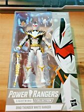 Hasbro Power Rangers Lighting Collection Dino Thunder White