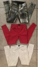 Bebe Lot of 3 Skinny Fit Sexy Denim Jeans Size 26