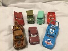 Disney Pixar Cars EYE CHANGE BUNDLE KING MCQUEEN 1:55 MATTEL Diecast TOKYO DRIFT