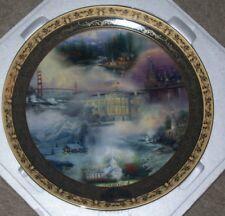 Bradford Exchange Thomas Kinkade America The Beautiful Collectors Plate 2003