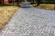 Großpflaster Kupferschlacke gebraucht Pflastersteine Randsteine, 25 t