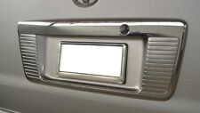 Fit Commutor Hiace 14-16 Rear Chrome License Plate Cover Trim