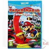 Jeu Paper Mario : Color Splash [VF] sur Nintendo Wii U NEUF sous Blister