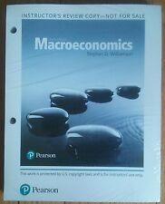 Macroeconomics, Williamson (6th Edition) (Loose-Leaf) INSTRUCTOR'S EDITION