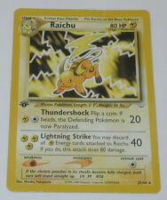 Pokemon Raichu 1st Edition Neo Revelation Card R10019