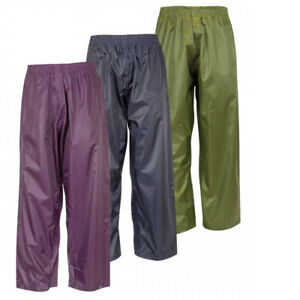 NEW Stormguard Waterproof Trousers Ideal for Outdoor Activities Camping Hiking