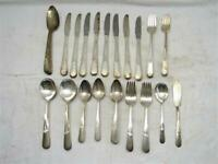 Holmes & Edwards Inlaid Youth Silverplate Flatware Set 52 pcs