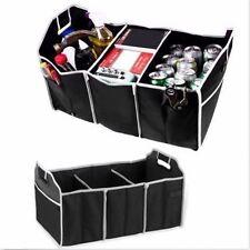 Extra Large Car Auto Trunk Organizer W/ 3 Compartments Folded Organization Bag