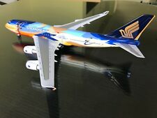 "RARE - Singapore Airlines 747-400 1:200 ""TROPICAL"" - 9V-SPK - Skymarks"