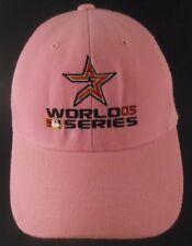 Houston Astros World Series 05 2005 Pink Strapback Cap Hat Danelley