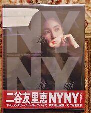 1991 KISHIN SHINOYAMA PHOTOGRAPHS of JAPANESE ACTRESS NITANI YURIE in NEW YORK