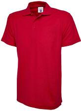 Uneek Olympic Polo Shirt Work Wear Plain Style Unisex  UC124
