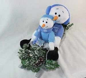 Avon A Magical Winter Sleigh Ride Snowmen Plays Christmas Songs Jingle Bells
