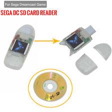 Sega Dreamcast Game Parts 1* Sega DC SD Card Reader Adapter w/ Converter Boot CD