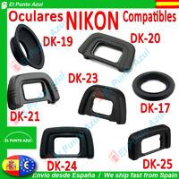 Visor Ocular NIKON DK-17, DK-19, DK20, DK-21, DK23, DK-24, DK25 Camara  Eyepiece