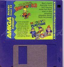 Amiga Format - Magazine Coverdisk 43 - Simpsons Bart World Demo