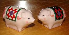 Pig Salt & Pepper Shakers (Jim Shore by Enesco, 4025873) Stoneware