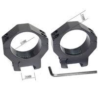 Tactical Barrel 35mm Low QD Scope Torch Laser Sight Ring Mount 20mm RIS Rail