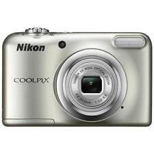 NIKON Coolpix A10 Argento Sensore CCD 16Mpx Zoom ottico 5x Display 2.6 Filmati H