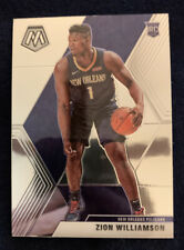 2019-20 Panini Mosaic Zion Williamson Rookie Card - Base Pelicans #209