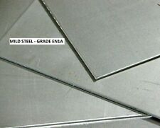 MILD STEEL SHEET/PLATE  -  many thicknesses and sizes