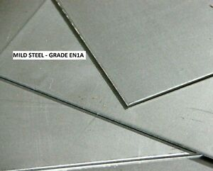 MILD STEEL SHEET/PLATE - thicknesses (0.7, 0.9, 1.5, 2, 3, 4)mm -  Many sizes