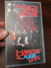 New Kids on the Block Hangin Tough Live  VHS Video Tape (NEW)