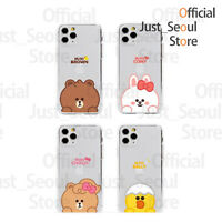 Official LINE Friends Mini Clear Case +Free Tracking KPOP GOODS