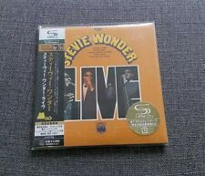 Stevie Wonder Live JAPAN MINI LP SHM CD SEALED