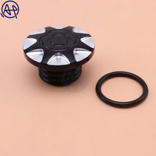 Motorcycle CNC Deep Cut Fuel Gas Tank Oil Cap Cover for Harley Sportster Dyna