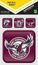 NRL Manly Sea Eagles Outdoor UV App Icon Car Tattoo Sticker Sheet Decal iTag