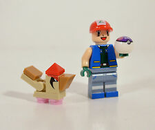 Pokemon Ash Ketchum Pidgeotto Master Ball Custom fit for Lego Mini Action Figure
