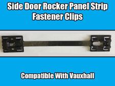 4x CLIPS FOR VAUXHALL Astra Corsa SIDE DOOR FENDER ROCKER PANEL STRIP 1000497