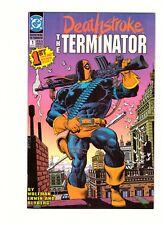 DEATHSTROKE THE TERMINATOR #1 (1991 D.C.) VF/NM