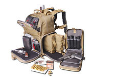 G-Outdoors G.P.S. Tactical Range Backpack Handgun Magazine Storage Cases - Tan