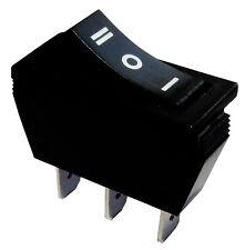 Interrupteur commutateur contacteur bouton  bascule noir SP3T ON-OFF-ON 15A/250V