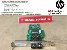 HP 8 GB Dual Channel PCIe Fibre Channel HBA * AJ764A *