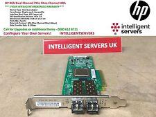 HP 8Gb Dual Channel PCIe Fibre Channel HBA  * AJ764A *