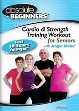 Absolute Beginners - Cardio & Strength Training Workout for Seniors, New DVD New