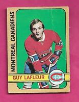1972-73 OPC # 59 CANADIENS GUY LAFLEUR 2ND YEAR  GOOD CARD  (INV# C5040)
