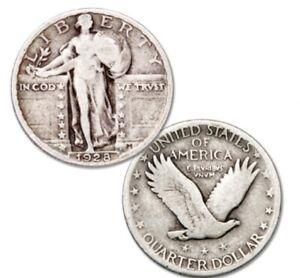 1928 Standing Liberty Silver Quarter