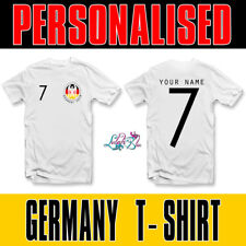 Adults Personalised Germany 2018 T Shirt | Football Team T-Shirt World Cup 2018